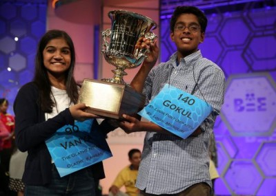 Indian Americans Lead the National Spelling Bee 2015