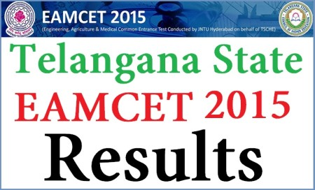 Telangana EAMCET results 2015 Declared at www.tseamcet.in