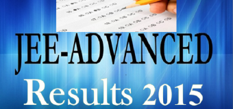 Joint Entrance Exam (JEE) Advance Result 2015 Declared at jeeadv.iitb.ac.in