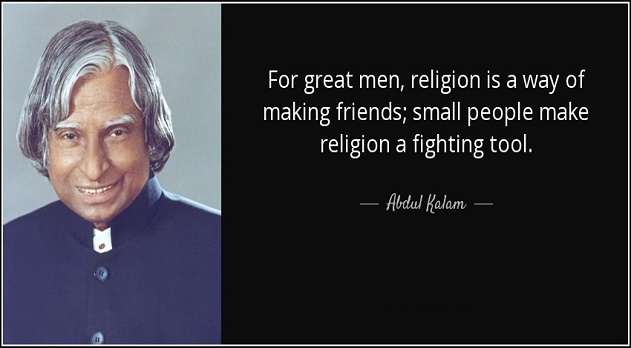 Apj  kalam Quotes with image