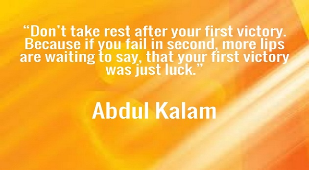 Apj  kalam Motivational Quotes