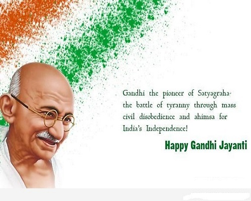 Birthday Quotes on Mahatma Gandhi2