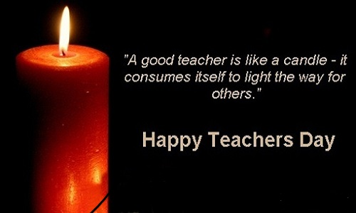 teachers day inspirational quote