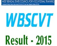 WBSCVT Result 2015 – WBSCVT STC Results Declared at official website