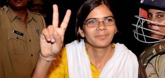 First woman president of students union- Richa Singh from Allahabad University