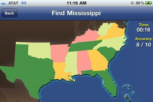 TapQuiz Maps World Edition App