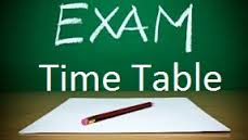 Telangana intermediate board time table 2017– TS intermediate exam date sheet 2017