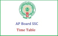 AP state board 10th class exam time table 2017- Bseap SSC/10th time table, hall tickets 2017