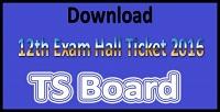 Telangana Board Intermediate Hall Ticket 2016 – Ts Inter Time Table 2016