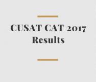 CUSAT CAT 2017 Result 2017 Name Wise Declared- Cochin University CAT Result 2017 Declared.