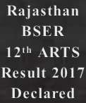 rajasthan board result name wise Declared- BSER 12th Arts result is DECLARED