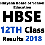 HBSE 12th class Board Result 2018 name wise- Haryana Board Plus Two Results 2018 is declared